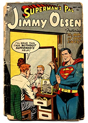 SUPERMAN'S PAL JIMMY OLSEN #1-1954-DC-ELUSIVE ISSUE-COMIC BOOK