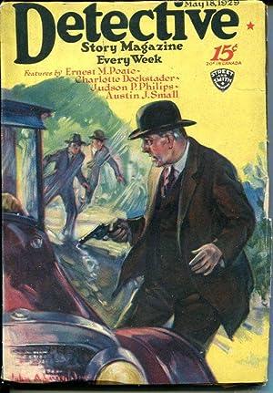 DETECTIVE STORY MAGAZINE-MAY 18 1929-PHILIPS-SMALL-DOCKSTADER-vg VG