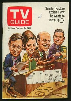TV GUIDE 05/24/1969-TODAY/JACK DAVIS ART/TOM JONES G