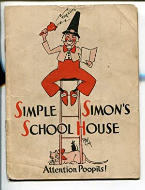 SIMPLE SIMON'S SCHOOL HOUSE 1930'S-JOKES-AUNT JEMIMA- RADIO SERIES-good