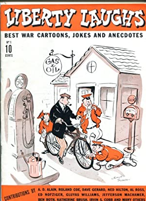 LIBERTY LAUGHS #1-DEC 1942-WWII ERA-FULL SIZE JOKE