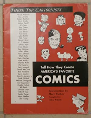TOP CARTOONISTS TELL HOW THEY CREATE AMERICA'S FAVORITE COMICS-1964