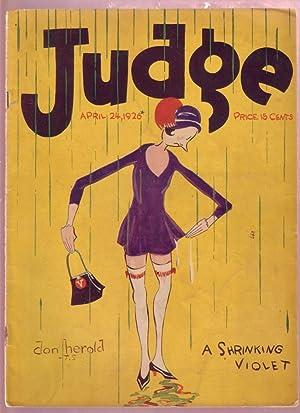 JUDGE APR 22 1926-GOLF HUMOR-MILT GROSS-RB FULLER-FARR