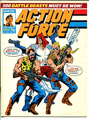 Action Force #21 1987-Marvel-Violent-British GI Joe-Dreadnoks-VF