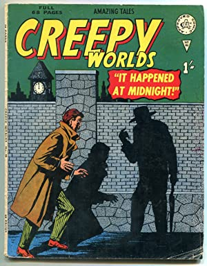 CREEPY WORLDS #90 IT HAPPENED AT MIDNIGHT VG