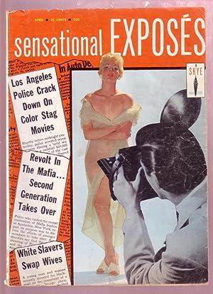 SENSATIONAL EXPOSES APR 1958-REVOLT IN MAFIA-GIRL GANGS