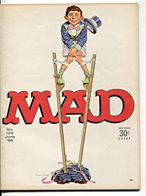 MAD Magazine #103 1966-Drucker-Berg-IRS-VF