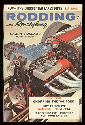 RODDING AND RE-STYLING MAY 1959 '40 FORD-PIN