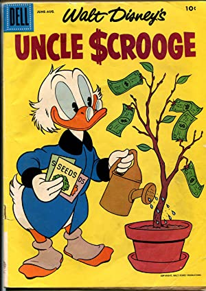 Uncle Scrooge #18 1957-Dell-Walt Disney-Carl Barks art-VG+
