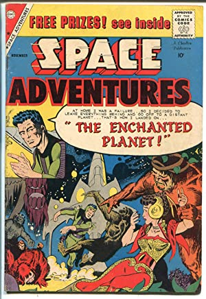Space Adventures #31 1959-Charlton-Steve Ditko-Enchanted Planet-VF MINUS