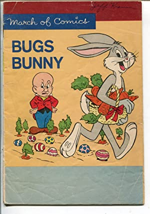 MARCH OF COMICS #259 1964-K.K. PUBS-BUGS BUNNY-EASTER