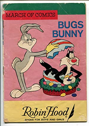 MARCH OF COMICS #287 1966-K.K. PUBS-BUGS BUNNY-EASTER