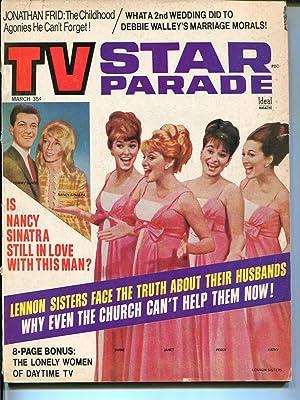 TV Star Parade 3/1969-Ideal-Lennon Sisters-Nancy Sinatra-Debbie Walley-VG