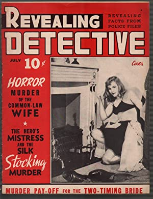 Revealing Detective Cases #2 7/1942-lingerie-cover-lurid-violent pulp-VG/FN