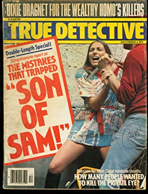 TRUE DETECTIVE 1977 DEC-SON OF SAM-WILD ISSUE VG