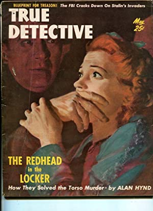TRUE DETECTIVE -MAY 1951-G-HARD BOILED-SPICY-RAPE-MURDER-BLACKMAIL-TORTURE G