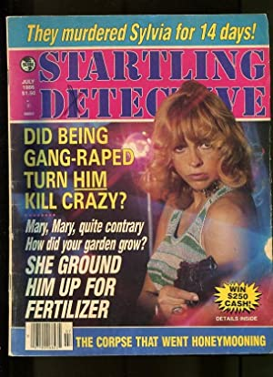 STARTLING DETECTIVE-07/1986-MORMON-GANG RAPE-FERTILIZER-HONEYMOON VG/FN