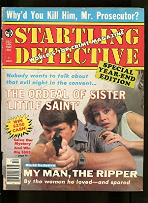 STARTLING DETECTIVE-01/1982-MURDER MACHINE-ANATOMY-RIPPER-VIRGIN-MASSACRE G/VG