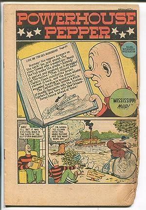 POWERHOUSE PEPPER #5 1948-TIMELY-BASIL WOLVERTON ART-SCARCE ISSUE-pr