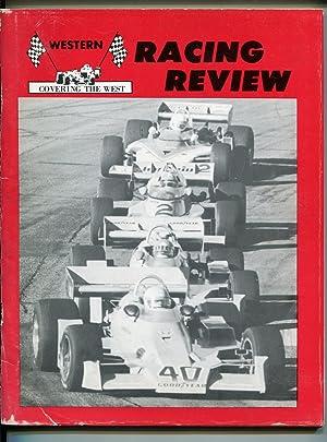 WESTERN RACE REVIEW AUTO RACE YEARBOOK-1976-NASCAR-USAC-CRA-IMSA-good
