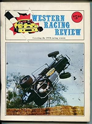 WESTERN RACE REVIEW AUTO RACE YEARBOOK-1978-NASCAR-USAC-CRA-IMSA-vg