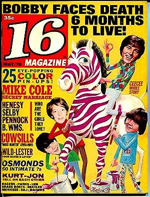 16 Magazine 3/1969-Bobby Sherman-Cowsills-Frid-Mod Squad-Elvis-VG