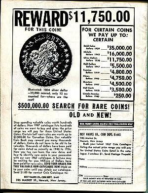 Master Detective 1/1967 TD Pub.-spicy Babe-bank bandit-slain patrolman-VG