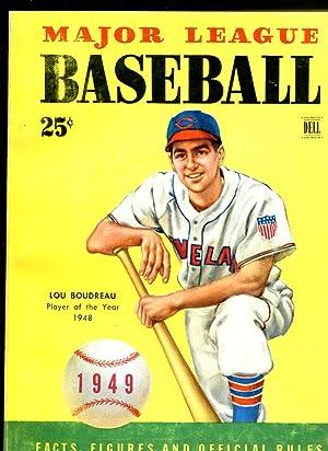 Major League Baseball-1949-Dell- team & player stats-Lou