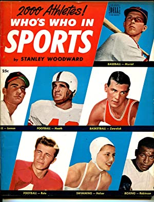 Stanley Woodwards Who's Who In Sports #2 1951-Stan Musial-Bob Lemon-VF