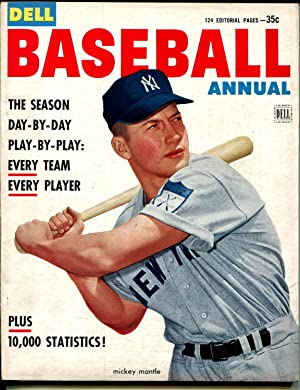 Baseball Annual #1 1953-Dell-Mickey Mantle-1st issue-MLB-VF