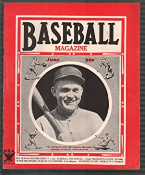Baseball Magazine 6/1935-Rogers Hornsby-Babe Ruth-Alvin Crowder-MLB-pix-info-FN