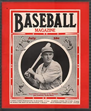 Baseball Magazine 7/1937-Wally Moses-Rogers Hornsby-MLB-pix-info-FN