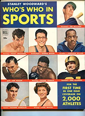 WHO'S WHO IN SPORTS #1 1950 1ST ISSUE-TED WILLIAMS-BEN HOGAN-SOUTHERN STATES-vf