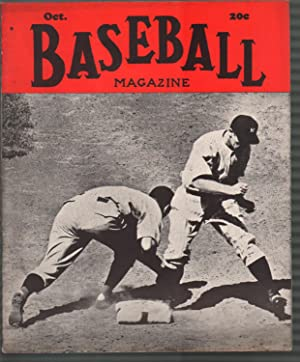 Baseball Magazine 10/1939-Ted Williams-Ted Lyons-MLB-pix-info-FN