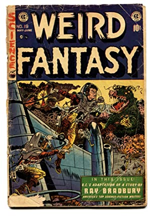 WEIRD FANTASY #19 comic book-Wally Wood-E.C. GOLDEN AGE-1953