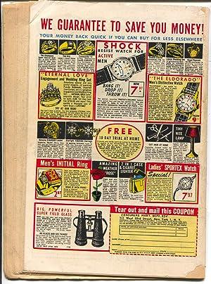 Perfect Crime #13 1951-Cross Pubs-Torture-violence-arson-murder-VG