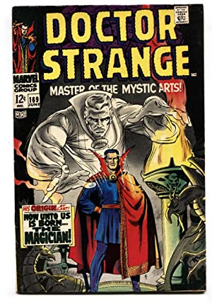 Doctor Strange #169 comic book First issue-Origin Retold-MCU-Movie-Marvel