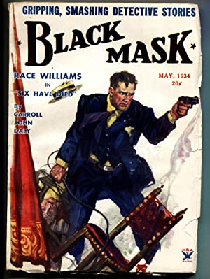 Black Mask May 1934 - Race Williams - Hugh B. Cave - Pulp Magazine
