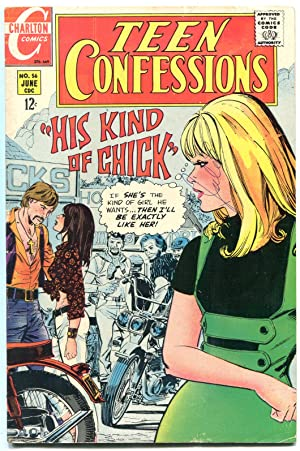 Teen Confessions #56 1969- Satans Brothers- Motorcycle Gang VG/F