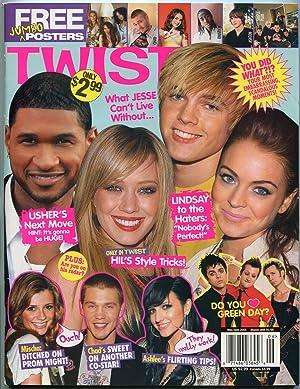 Twist Magazine May 2005- Usher- Hilary Duff-