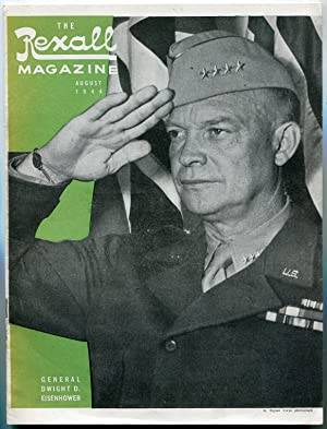 Rexall Magazine August 1944- General Dwight Eisenhower