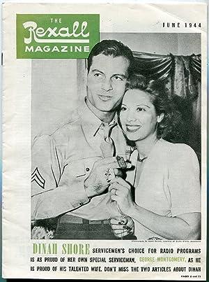 Rexall Magazine June 1944- Dinah Shore- George