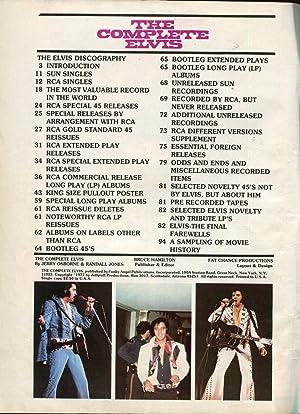 Complete Elvis Magazine 1977- Elvis Presley-
