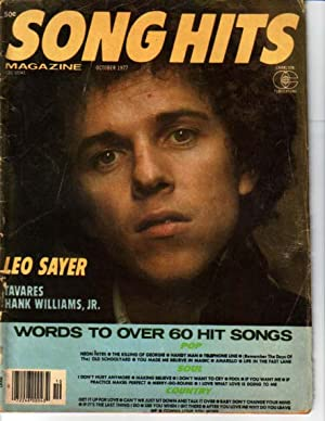 Song Hits Magazine October 1977- Leo Sayer-