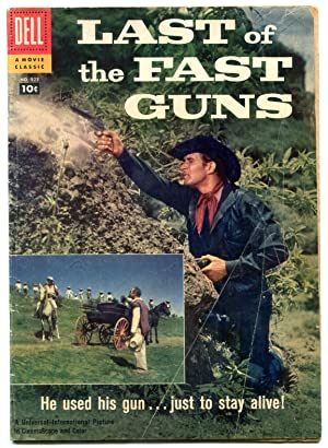 Last of the Fast Guns- Four Color Comics #925 1958 VG