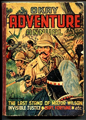 Okay Adventure Annual 1940's-British-Crack Comics Smash-Golden-Age