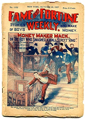 Fame and Fortune Weekly October 28 1927-