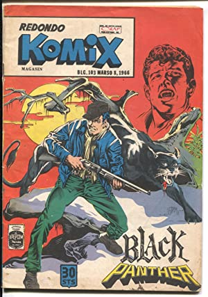 Redondo Komix #103 1966-Black Panther-violent stories-vampire cover-VG