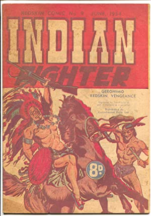 Indian Fighter #9 1954-Redskin Comics #9-Geronimo-Doug Wildey-VG