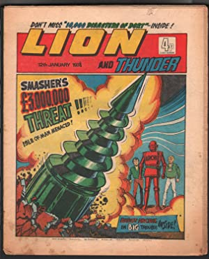 Lion and Thunder 1/12/1972-IPG-robot-underground comix style-sci-fi-horror-VG-
